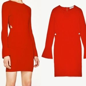ZARA|KNIT DRESS